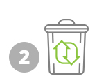 easy composting at home - icon