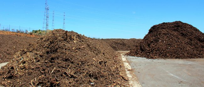 commercial composting facility