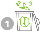 office composting program