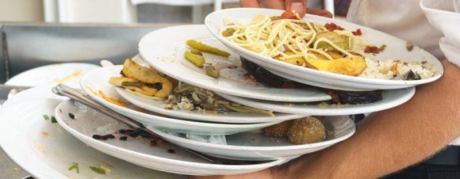 why do restaurants throw food away