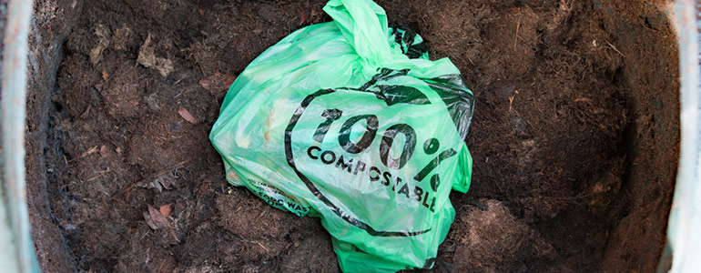 what are compostable bags