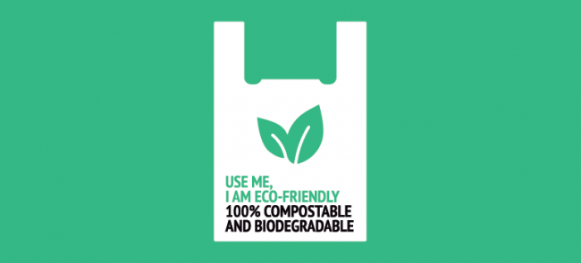 where to buy compostable bags Houston